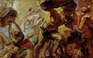 Titánok harca, Rubens