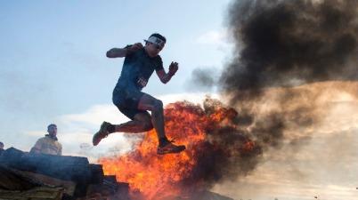 Spartan Race extrém akadályverseny a Hungaroringen 2014. október 25-én - MTI Fotó: Koszticsák Szilárd