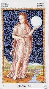 Uránia (Mantegna Tarot)
