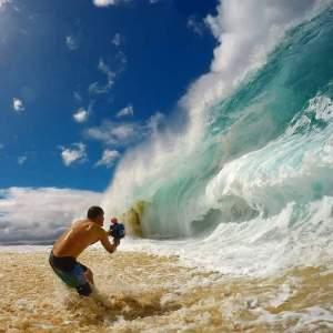 szemben a hullámokkal