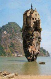 sziklán templom