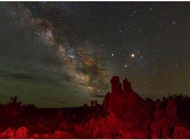 Szat, Mars, antares, vörös sziklák